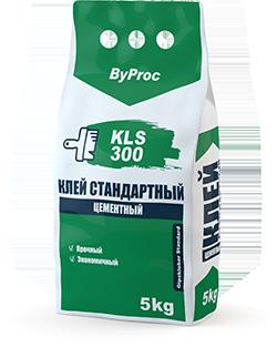 Клей цементный стандартный KLS-300 5кг