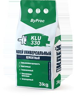 Клей цементный универсальный KLU-330 3кг
