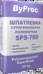 Шпатлёвка суперфинишная полимерная SPS-780 25кг