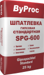 Шпатлёвка гипсовая стандартная SPG-600 25кг