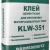 Клей цементный для крепления минераловатных плит KLW-351 25кг