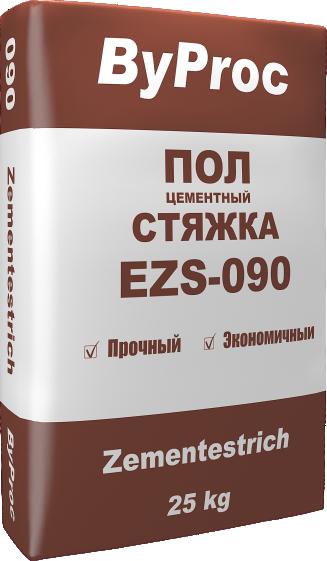 Пол цементный стяжка EZS-090 25кг