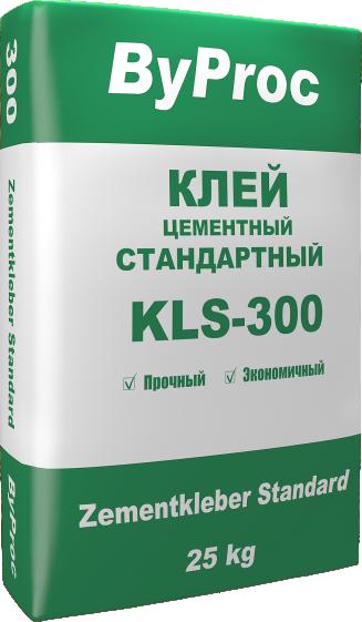 Клей цементный стандартный KLS-300 25кг